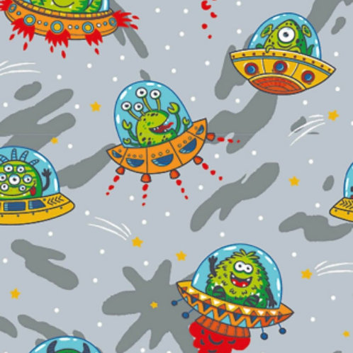 Baumwolljersey Aliens Comic