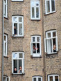 People were able to enjoy the concerts from their apartments