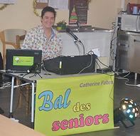 animation musicale maison repos seniors thé dansant catherine fabre disc jockey