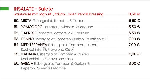 Insalate Salate - Bringdienst da Toni.pn