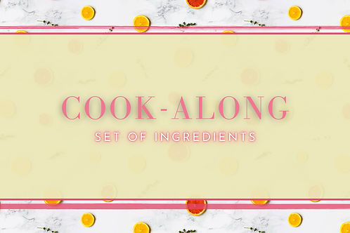 Cook-Along Ingredients