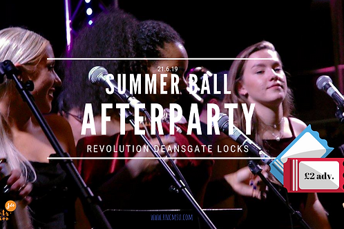 Summer Ball afterparty ticket - OTD