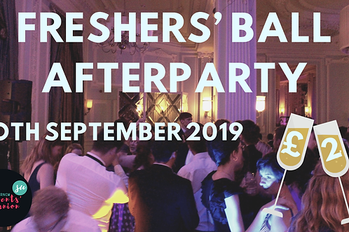 Freshers' Ball Afterparty
