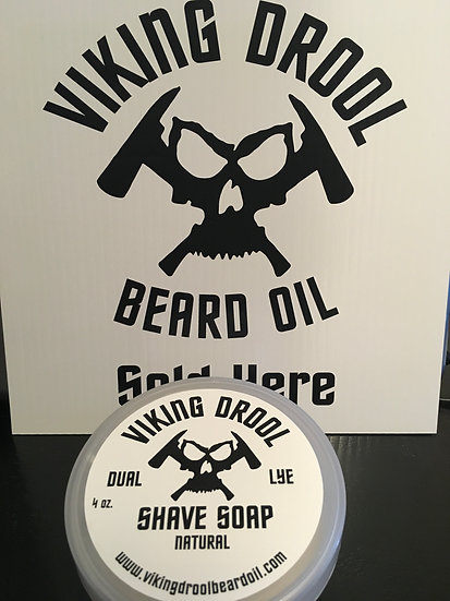 Natural Daul Lye Shave Soap