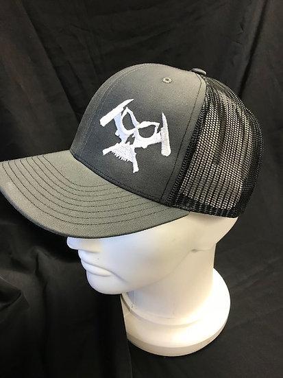 Viking Drool Trucker Hat (Grey/Black)