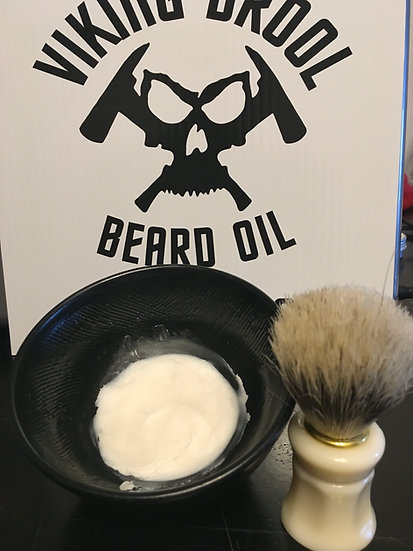 Shave Bowl & Brush