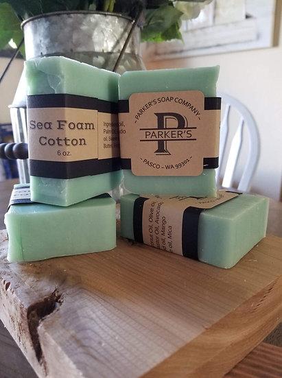 Sea Foam Cotton-Bar Soap