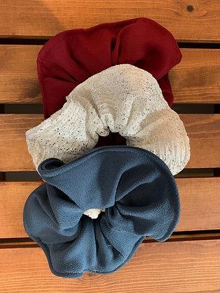 Handmade Scrunchies - 3PK