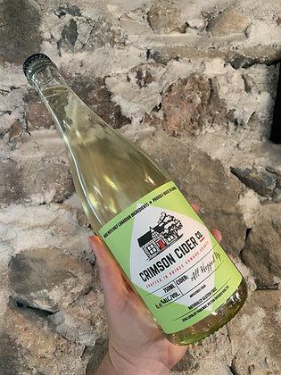 All Hopped Up - Off Dry Cider 750ml Bottle