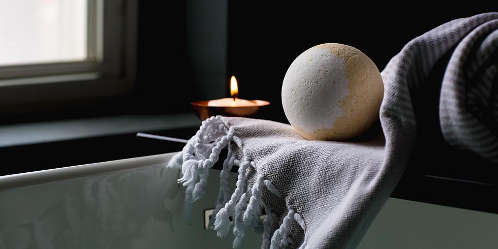 Bath Bomb & Bathing Salts Afternoon