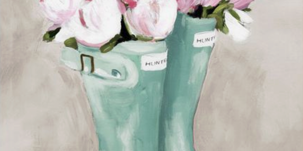 Paint and Sip: Spring Time Tulips: POSTPONED UNTIL FURTHER NOTICE