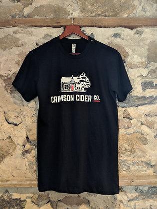 Branded Black T-Shirt