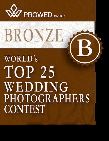 ProWed Top 25 Wedding Photographers