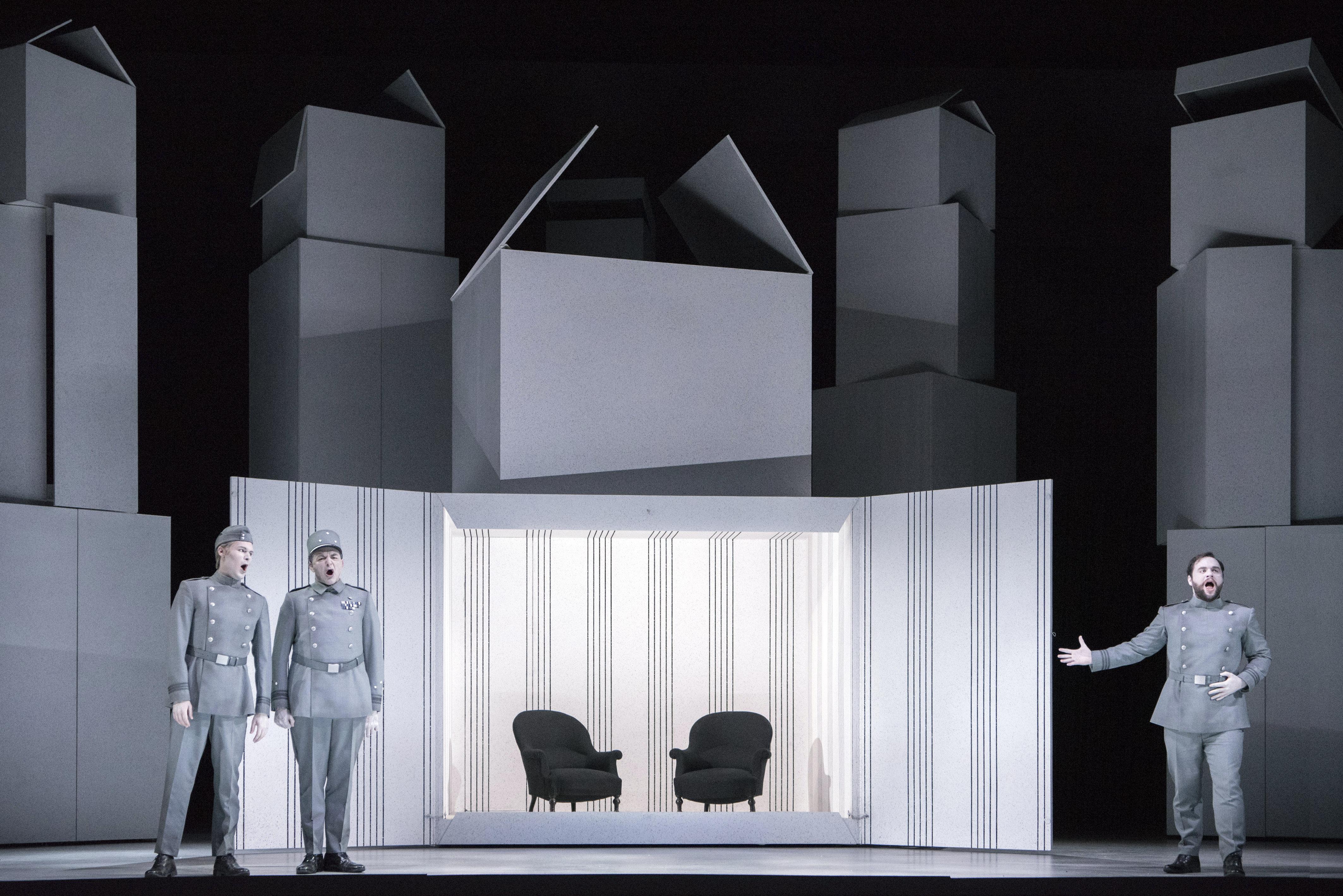 Béatrice et Bénédict Chair Reupholst