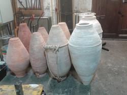 Sculpted Urns