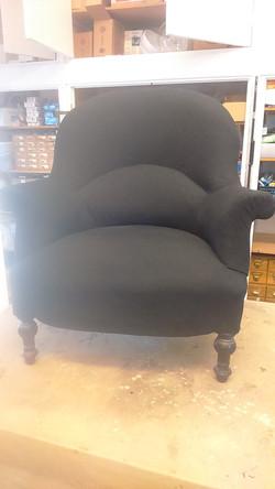 Armchair Reupholstry - Crapaud Chair