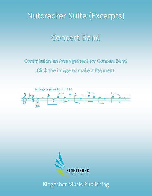 Commission an Arrangement for Concert Band