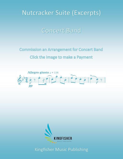Commission an Arrangement for Concert Band