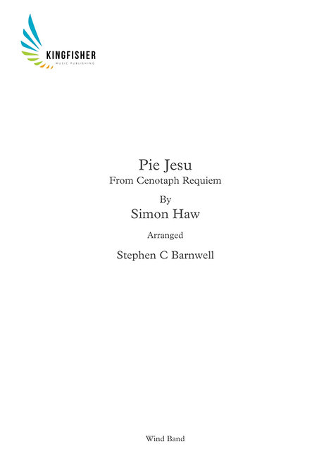 Pie Jesu - From Cenotaph Requiem (Wind Band)