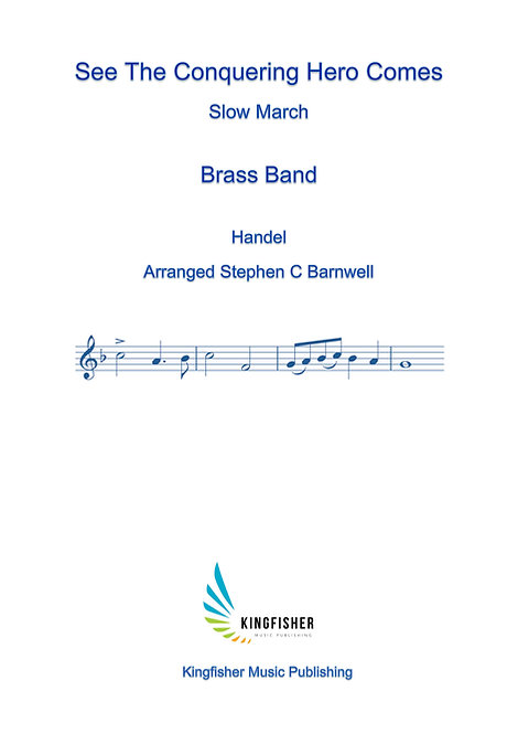 Slow March: See The Conquering Hero Comes (Brass Band)