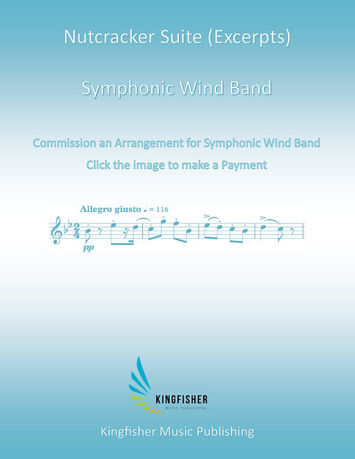 Commission an Arrangement for Symphonic Wind Band