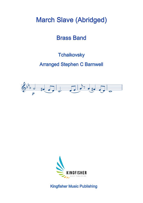 Marche Slave (Abridged) For Brass Band