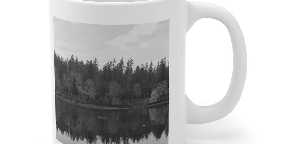 Blakely Harbor/Contemplation Ceramic Mug