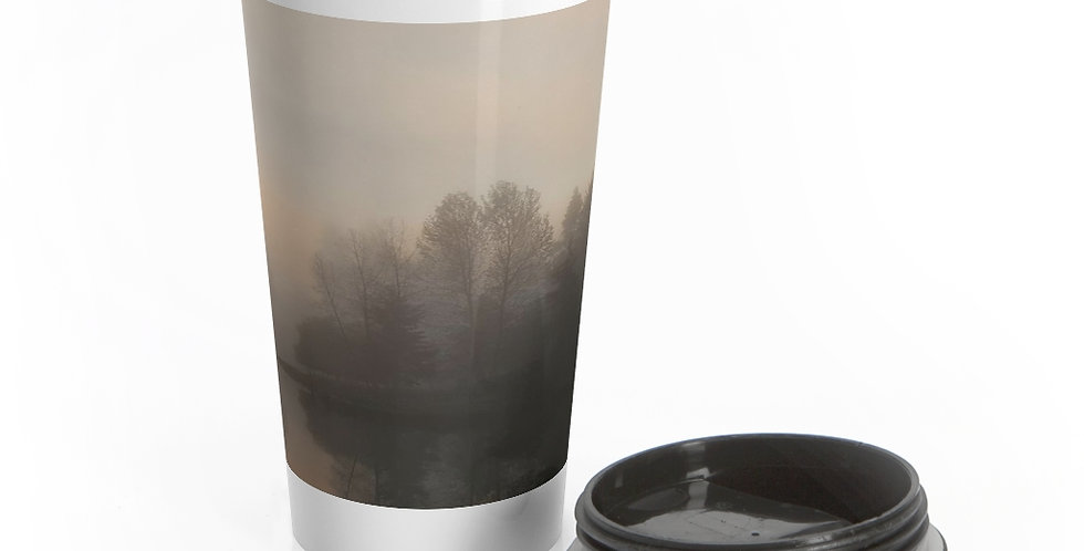 Head of the Bay Reusable Stainless Steel Travel Mug