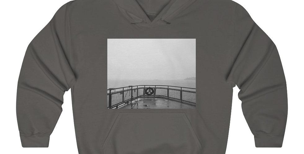 Foggy Ferry - Unisex Heavy Blend™ Hooded Sweatshirt