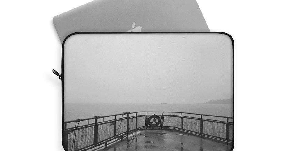 Foggy Ferry Laptop Sleeve