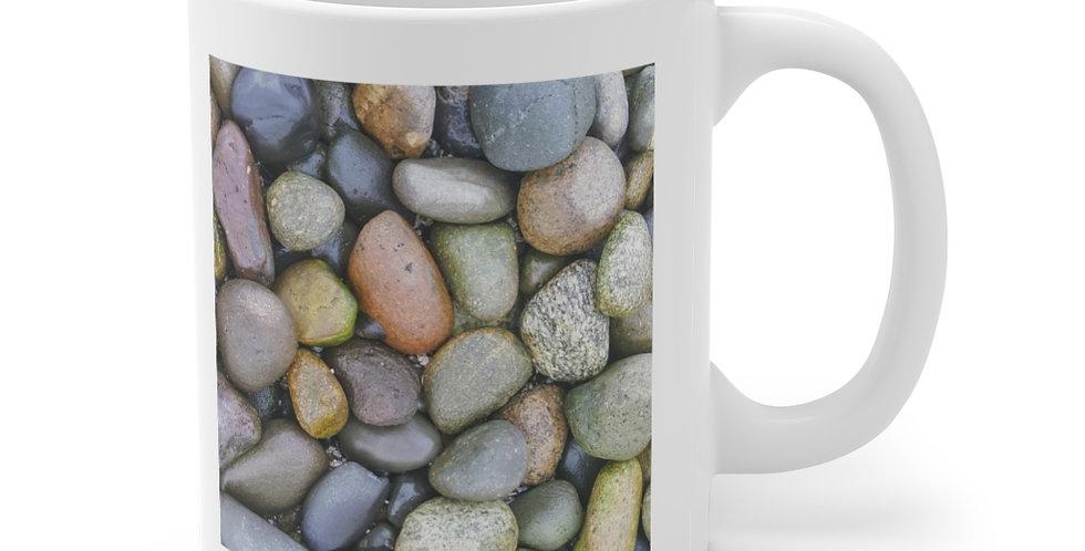 Beach Stone/Roll With It Ceramic Mug