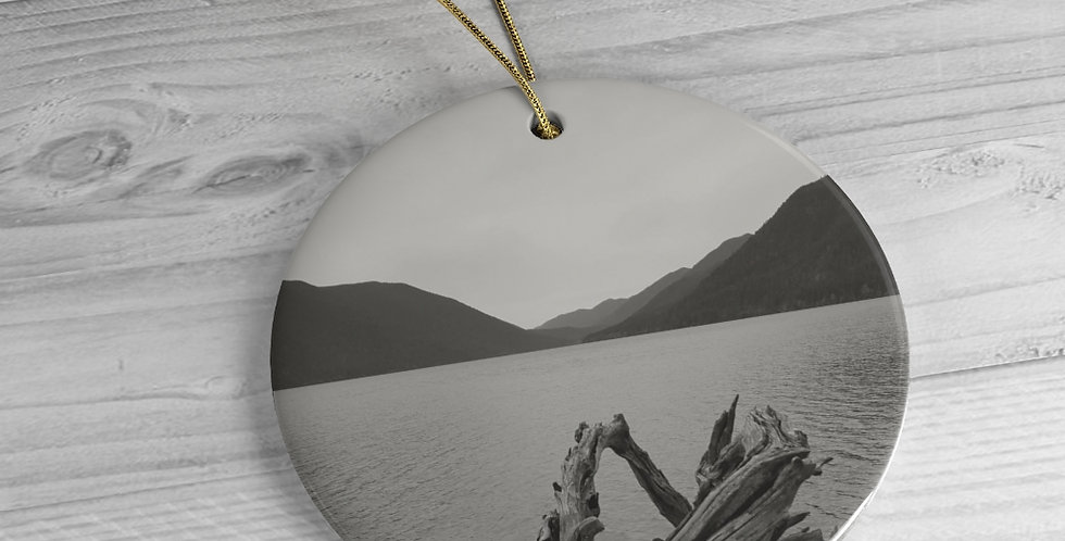 Copy of Lake Crescent - Ceramic Ornaments