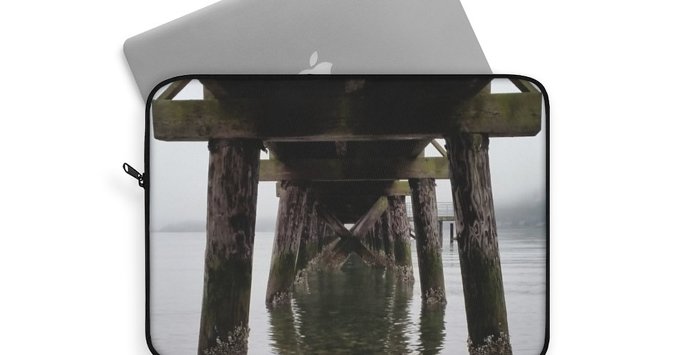 Under The Pier Laptop Sleeve