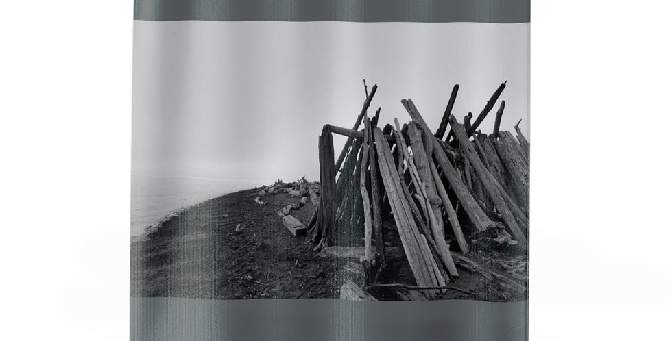 Driftwood Fort Shower Curtains