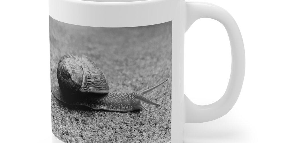 Snail/Slow & Steady Ceramic Mug