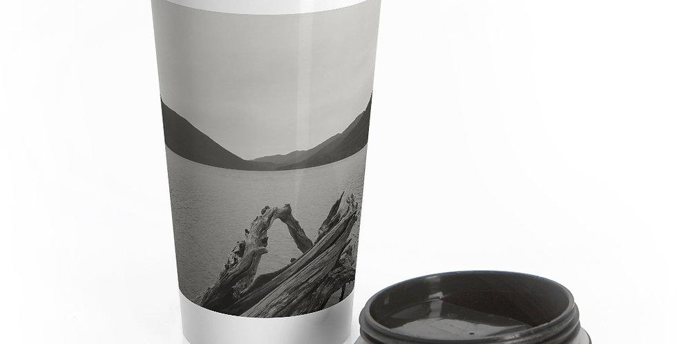 Lake Crescent Reusable Stainless Steel Travel Mug