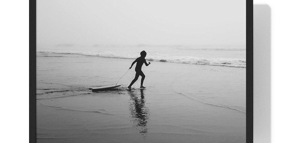 Surf's Up Framed Horizontal Poster