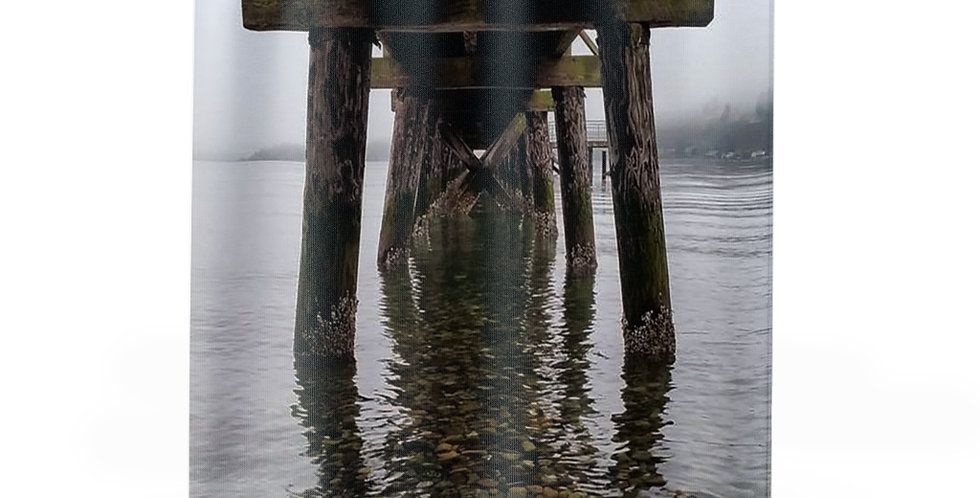 Under The Pier Shower Curtains