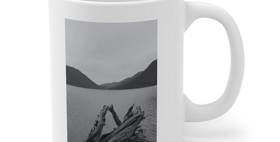 Lake Crescent/Calm Ceramic Mug