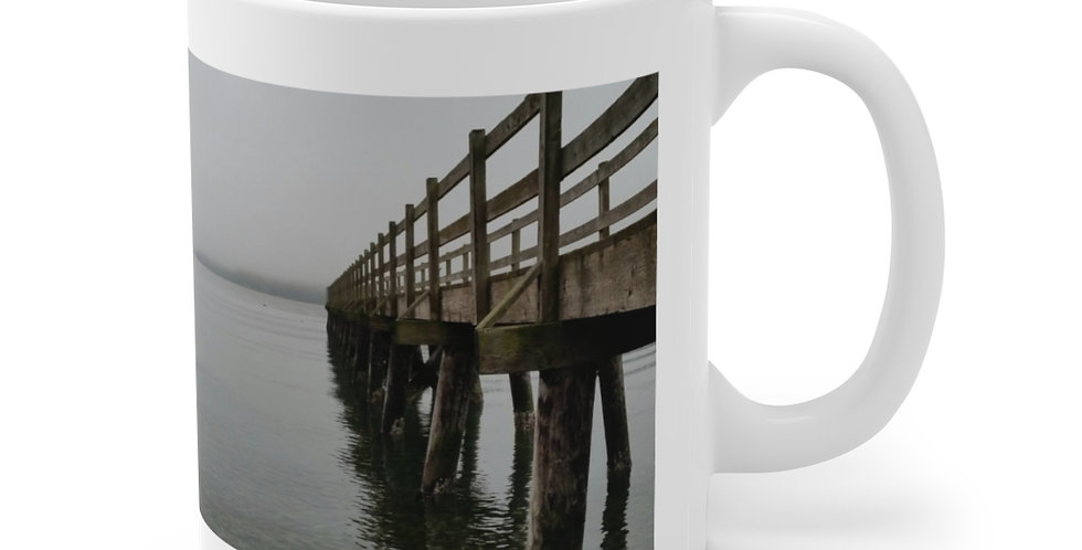 Point White/Viewpoint Ceramic Mug