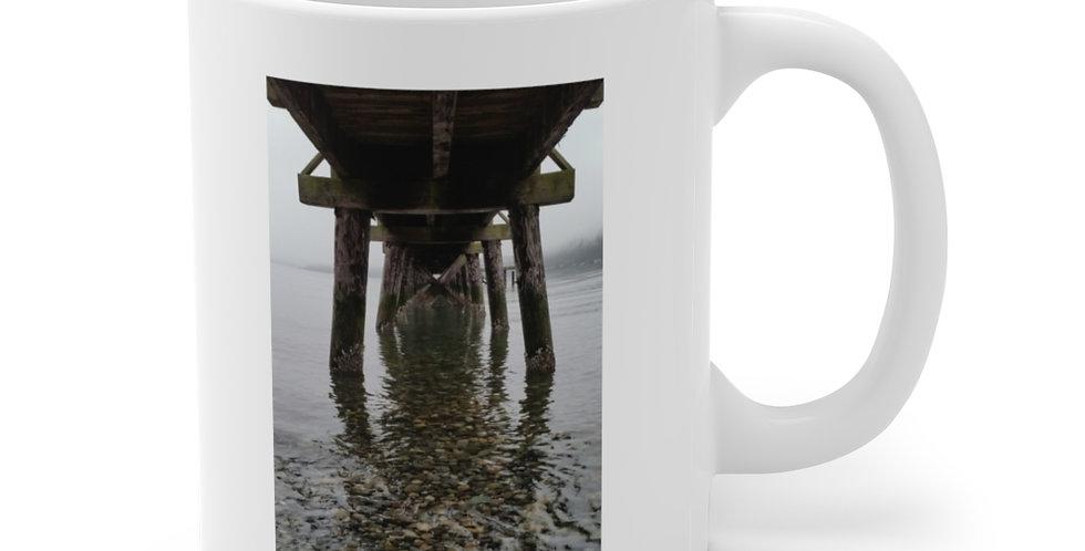 Under The Pier/Perspective Ceramic Mug