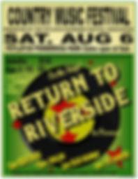 potlatch music festival Return to Riverside