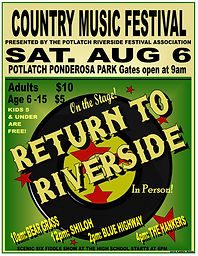 potlatch music festival Return to Riverside