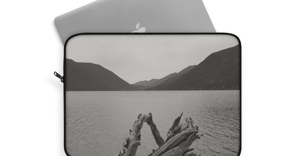 Lake Crescent Laptop Sleeve