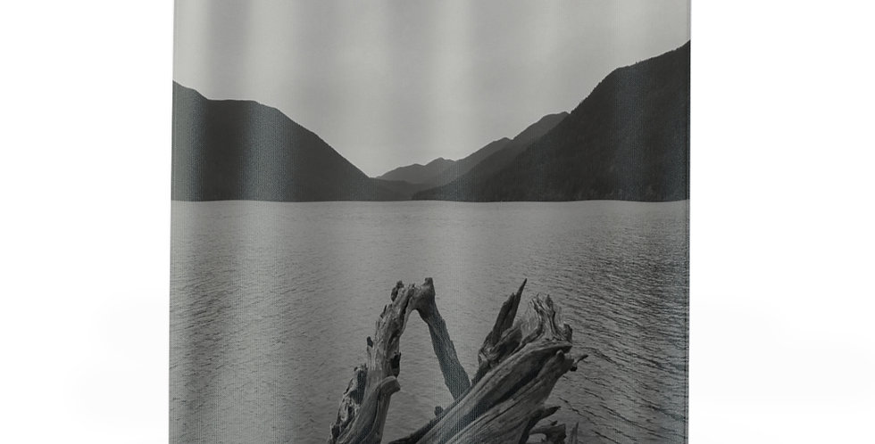 Lake Crescent Shower Curtains