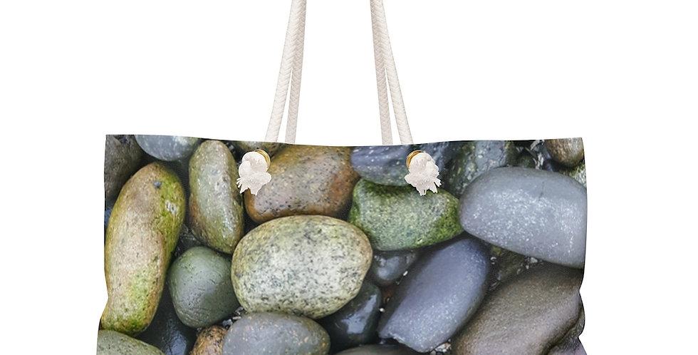 Beach Stones Weekender Bag
