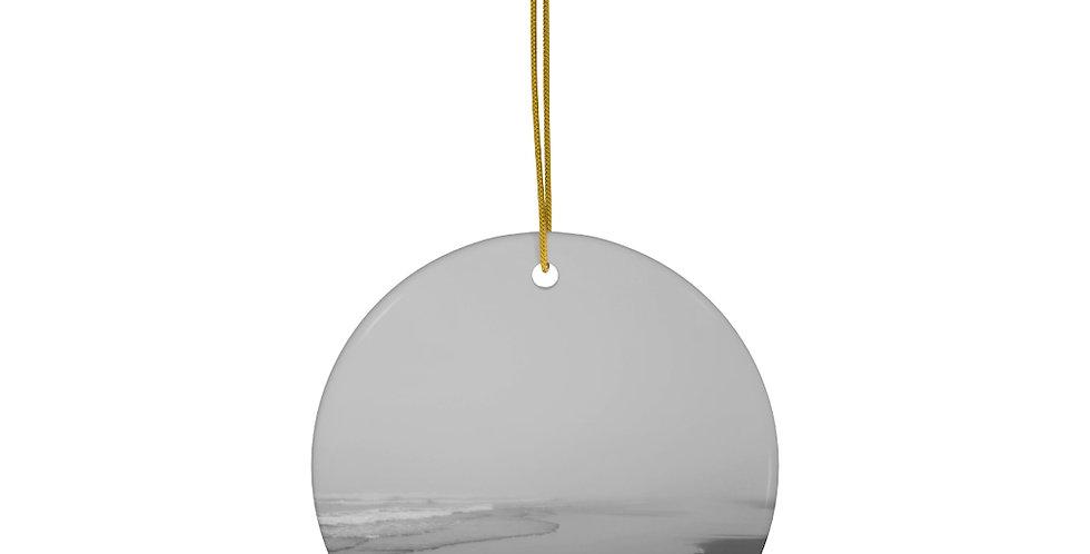 Onshore Flow Ceramic Ornament