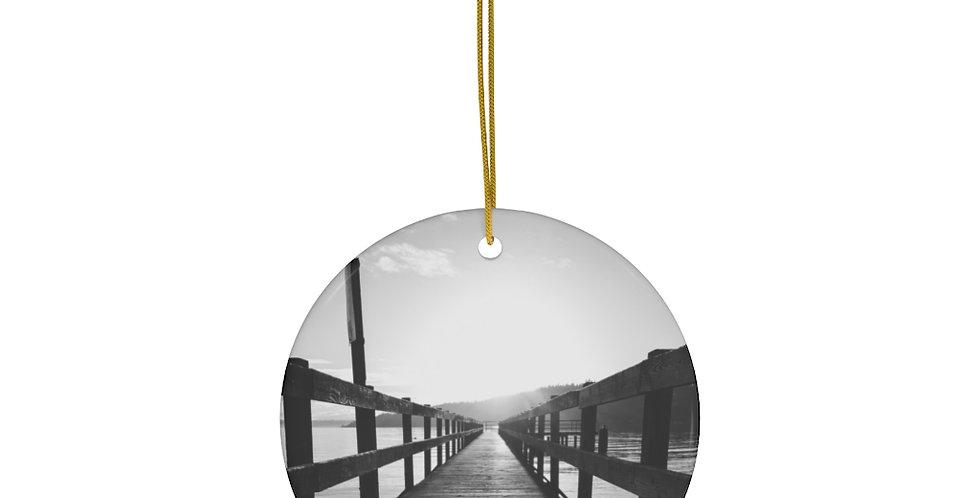 Pier Ceramic Ornament