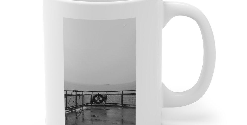 Foggy Ferry/Afloat Ceramic Mug