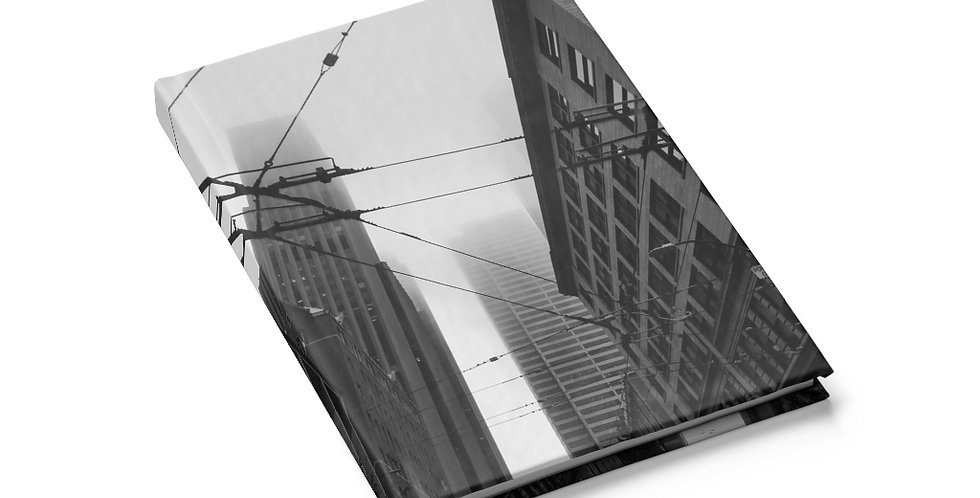 Foggy Cityscape Journal (Blank)
